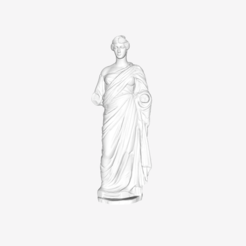 Download free 3D printer templates Female Funerary Statue at the Louvre, Paris, France, Louvre