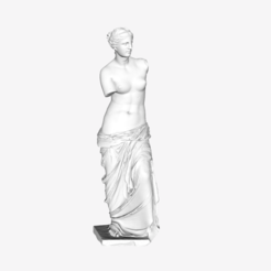 Download free 3D printer designs Venus de Milo at The Louvre, Paris, Louvre