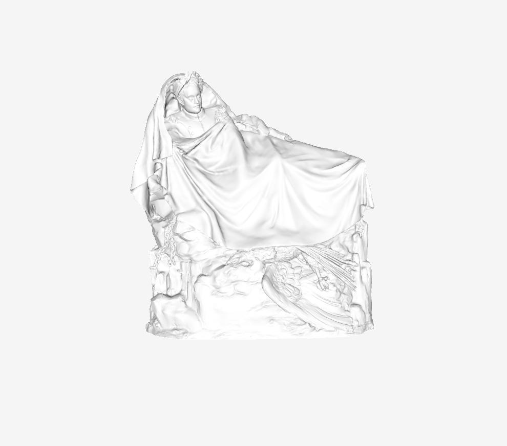 Capture d'écran 2018-09-21 à 18.27.59.png Download free STL file The Dream of Napoleon at The Louvre, Paris • 3D printing object, Louvre