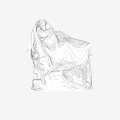 Download free 3D printing designs The Dream of Napoleon at The Louvre, Paris, Louvre