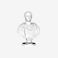 Free 3D printer model Emperor Constantine the First at the Louvre, Paris, France, Louvre