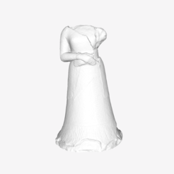 Download free 3D printing files Statue of Napirasu at the Louvre museum, Paris, Louvre