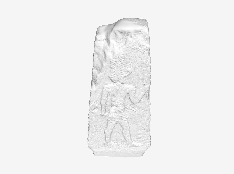 Capture d'écran 2018-09-21 à 18.34.19.png Download free STL file God wearing a tall hat at The Louvre, Paris • Model to 3D print, Louvre