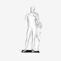 Download free 3D printer files Hermes (Mercury) at the Louvre museum, Paris, Louvre