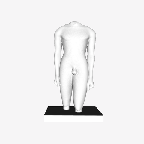 Capture d'écran 2018-09-21 à 18.36.00.png Download free STL file Kouros from Actium at The Louvre, Paris • 3D printer object, Louvre
