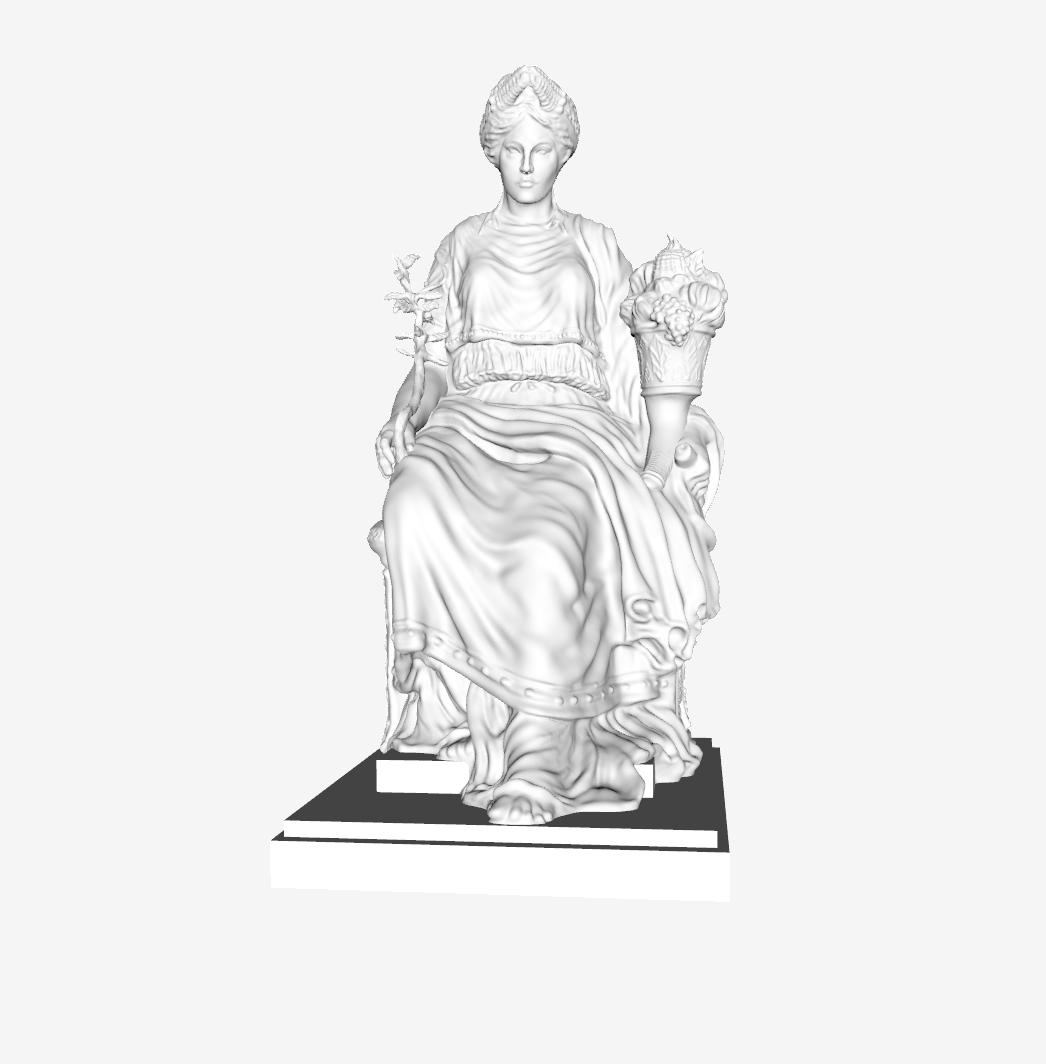 Capture d'écran 2018-09-21 à 15.53.49.png Download free STL file La Paix at The Louvre, Paris • Design to 3D print, Louvre