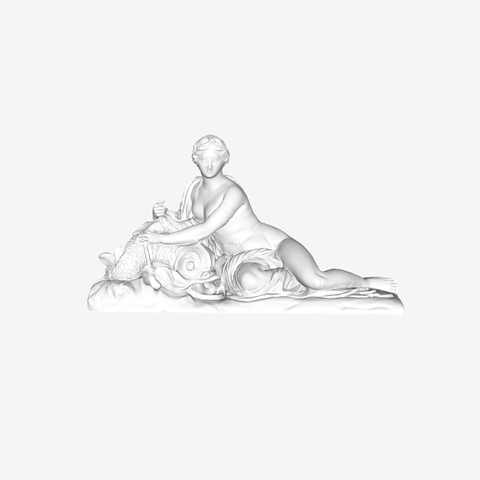 Download free 3D printing designs Amphitrite at The Louvre, Paris, Louvre