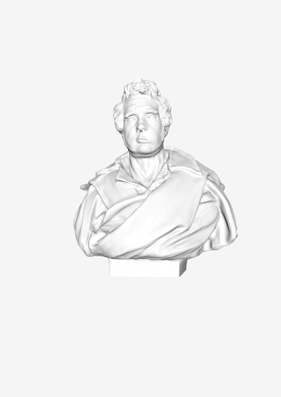 Capture d'écran 2018-09-21 à 13.38.56.png Download free STL file Jacques-Louis David at The Louvre, Paris • 3D printing design, Louvre