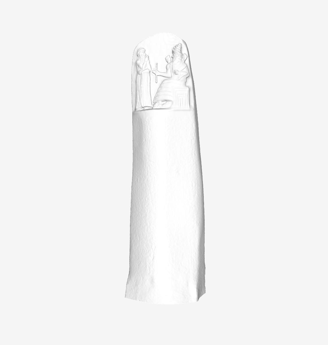 Capture d'écran 2018-09-21 à 15.00.18.png Download free STL file The Hammurabi Code at The Louvre, Paris • 3D printing template, Louvre
