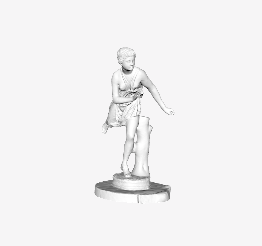 Capture d'écran 2018-09-21 à 09.49.24.png Télécharger fichier STL gratuit Atalante au Louvre, Paris • Plan pour impression 3D, Louvre