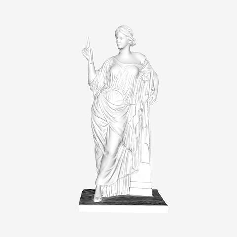 Download free STL Aphrodite au Pilier at The Louvre, Paris, Louvre