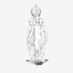 Download free STL file Dominique Florentin at the Louvre, Paris, France • 3D printing object, Louvre
