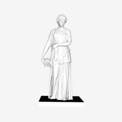 Download free STL file Maenad (Bacchante) at The Louvre, Paris • 3D printer design, Louvre