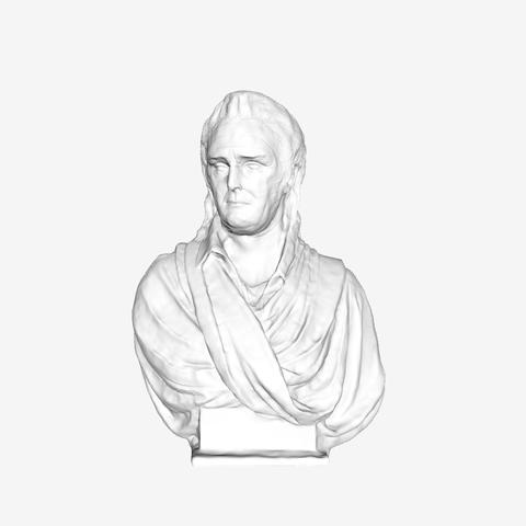 Download free 3D printer files Pierre Puget at The Louvre, Paris, Louvre