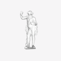 Download free STL file Silenus at The Louvre, Paris • 3D printer model, Louvre