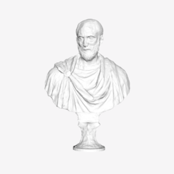 Download free STL file Bust of a Roman at The Louvre, Paris • 3D printer template, Louvre
