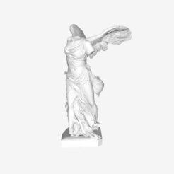 Free 3D model Winged Victory of Samothrace at The Louvre, Paris, Louvre