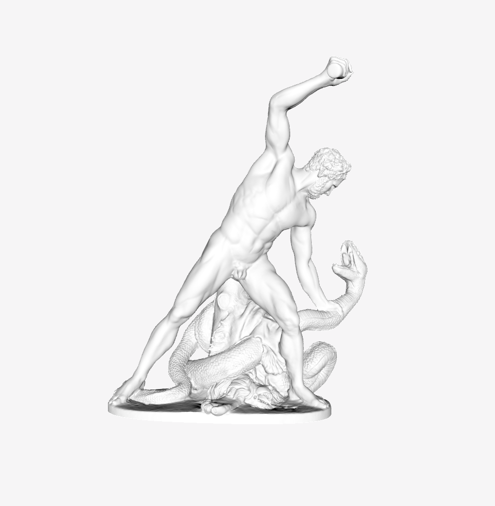 Capture d'écran 2018-09-21 à 10.08.57.png Télécharger fichier STL gratuit Hercule Combat douloureux Métamorphosé en serpent au Louvre, Paris. • Objet pour impression 3D, Louvre