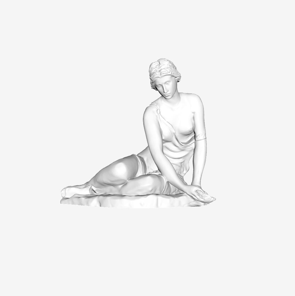 Capture d'écran 2018-09-20 à 18.03.49.png Télécharger fichier STL gratuit Nymphe avec Shell au Louvre, Paris • Design imprimable en 3D, Louvre