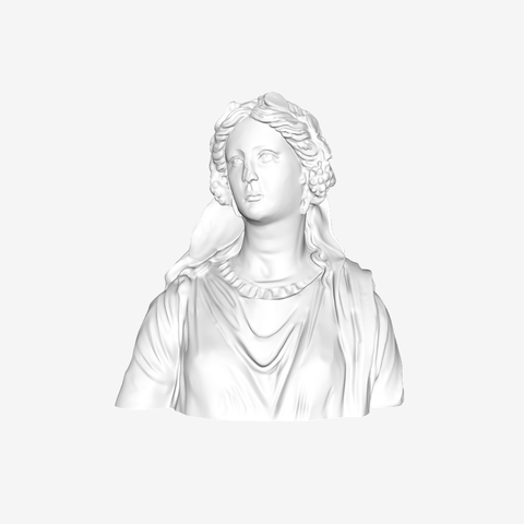 Download free 3D printing models Bust of a Woman : Ariadne at The Louvre, Paris, Louvre