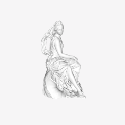 Download free 3D printing designs Amphitrite at The Louvre, Paris, Louvre