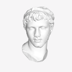 Download free 3D printing files Ptolemy of Mauretania at The Louvre, Paris, Louvre