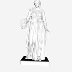 Download free 3D printing models The Muse of Tragedy at The Louvre, Paris, Louvre