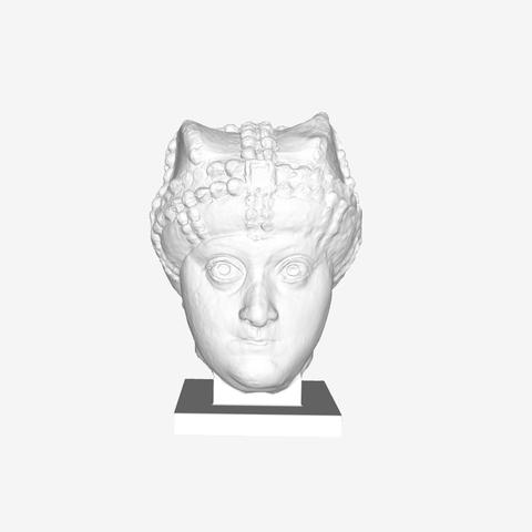 Capture d'écran 2018-09-21 à 17.55.56.png Download free STL file The Empress Ariane at The Louvre, Paris • 3D printing model, Louvre