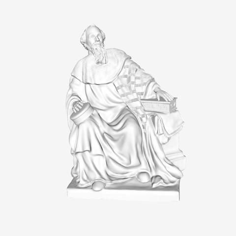Download free 3D printer templates Mahieu Molé at the Louvre museum, Paris, Louvre