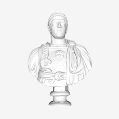 Download free 3D printer designs Theodosius II at The Louvre, Lens, France, Louvre