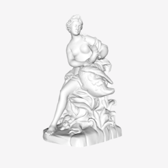 Download free 3D print files Leda and The Cygnet at The Louvre, Paris, Louvre