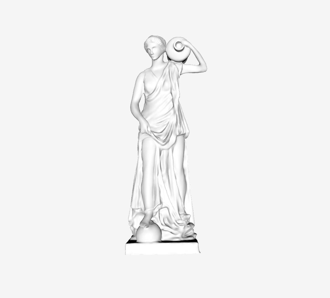 Capture d'écran 2018-09-20 à 18.07.09.png Download free STL file Anchyrrohée or Terpsichore at The Louvre, Paris • 3D printable object, Louvre