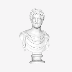 Download free STL file Bust of Antoninus Pius at The Louvre, Paris • 3D printer model, Louvre