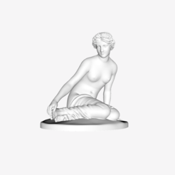 Download free STL file The Nymph Salmacis at The Louvre, Paris • 3D printing template, Louvre