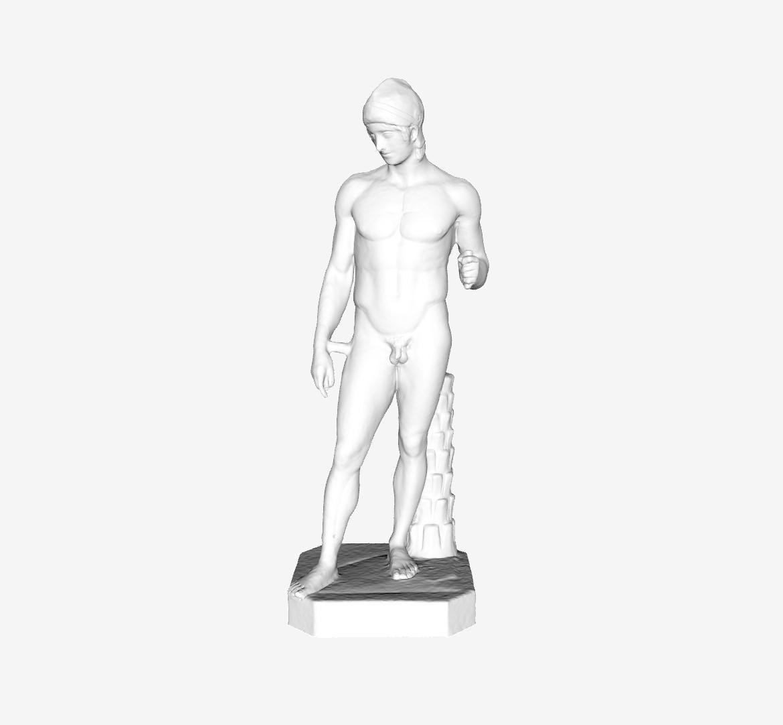 Capture d'écran 2018-09-21 à 13.41.31.png Télécharger fichier STL gratuit Ares Borghese au Louvre, Paris • Plan pour impression 3D, Louvre