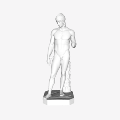 Download free 3D printing files Ares Borghese at The Louvre, Paris, Louvre