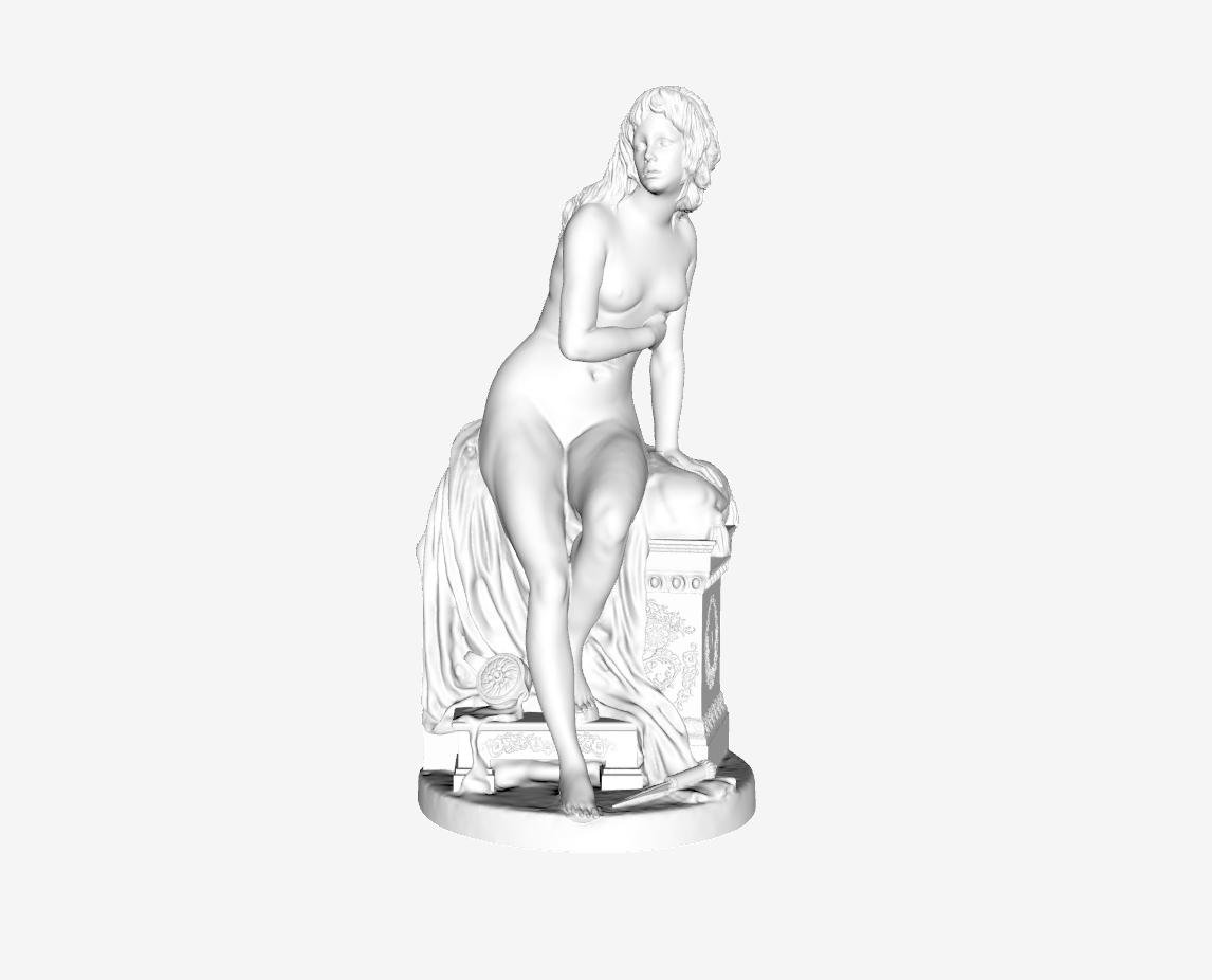 Capture d'écran 2018-09-21 à 14.45.33.png Download free STL file Psyche Abandoned at The Louvre, Paris • 3D printer design, Louvre