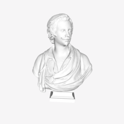 Download free STL file Antoon Van Dyck at The Louvre, Paris • 3D printing object, Louvre