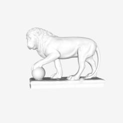 Télécharger modèle 3D gratuit Lion au Louvre, Paris, France, Louvre