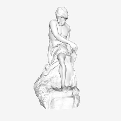 Download free STL files Charon at The Louvre, Paris, Louvre