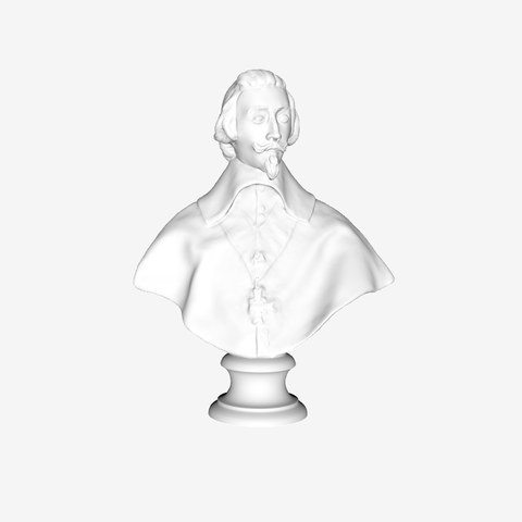 Download free STL file The Cardinal Richelieu at The Louvre, Paris • 3D print object, Louvre