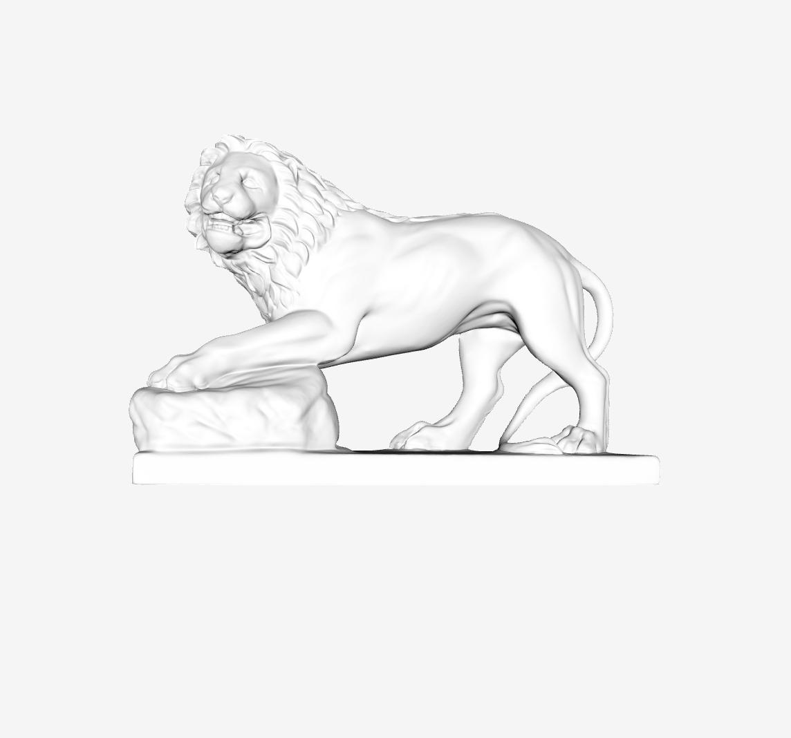 Capture d'écran 2018-09-21 à 10.01.30.png Download free STL file Lion Funéraire at the Louvre, Paris, France • 3D printing design, Louvre