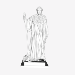 Download free 3D printing models Napoleon 1st at The Louvre, Paris, Louvre