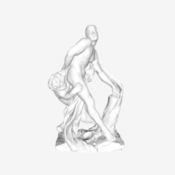 Download free 3D printer templates Milo of Croton at the Louvre, Paris, Louvre