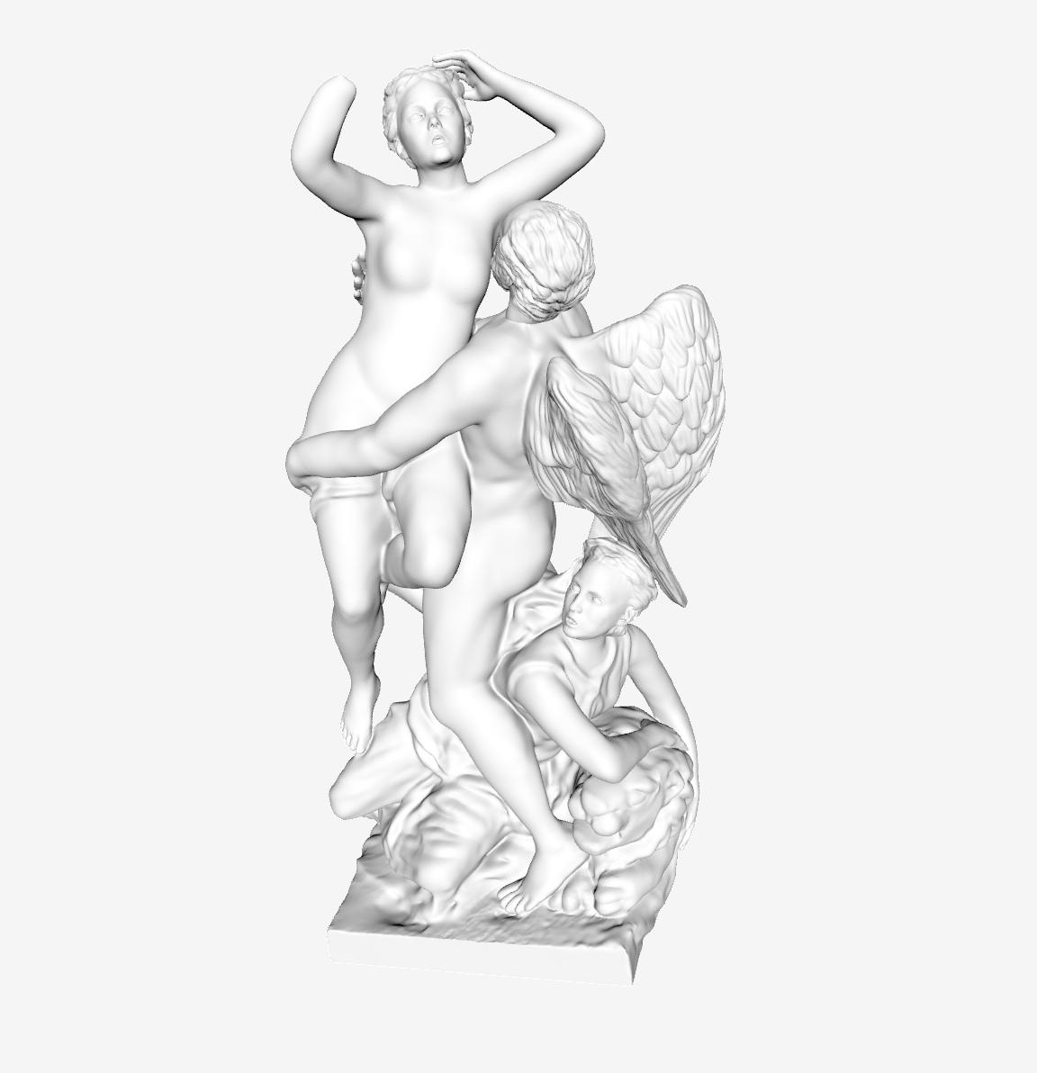Capture d'écran 2018-09-21 à 16.15.55.png Download free STL file Saturn Abducting Cybele at The Louvre, Paris • 3D printing template, Louvre