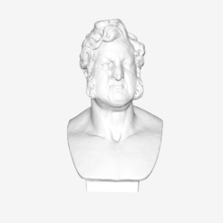 Download free 3D printing files Louis-Philippe at The Louvre, Paris, Louvre