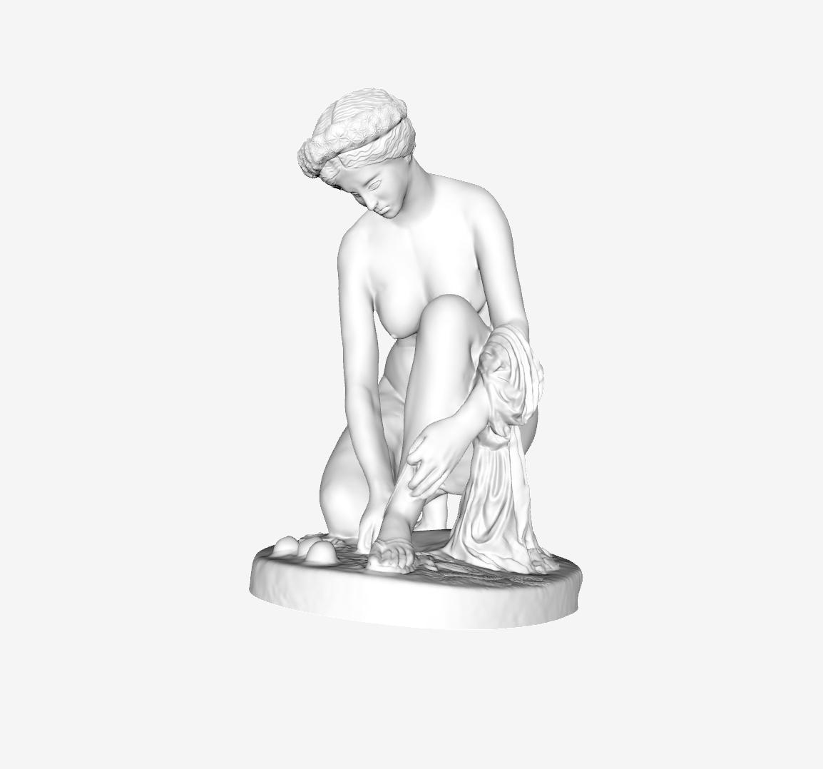 Capture d'écran 2018-09-21 à 10.41.34.png Download free STL file Artemis at The Louvre, Paris • 3D printing design, Louvre