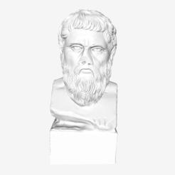 Free 3D print files Plato at The Louvre, Paris, Louvre