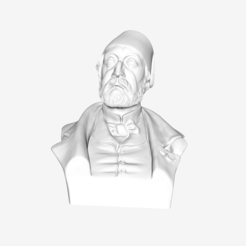 Download free 3D printing designs Auguste Mariette at The Louvre, Paris, Louvre