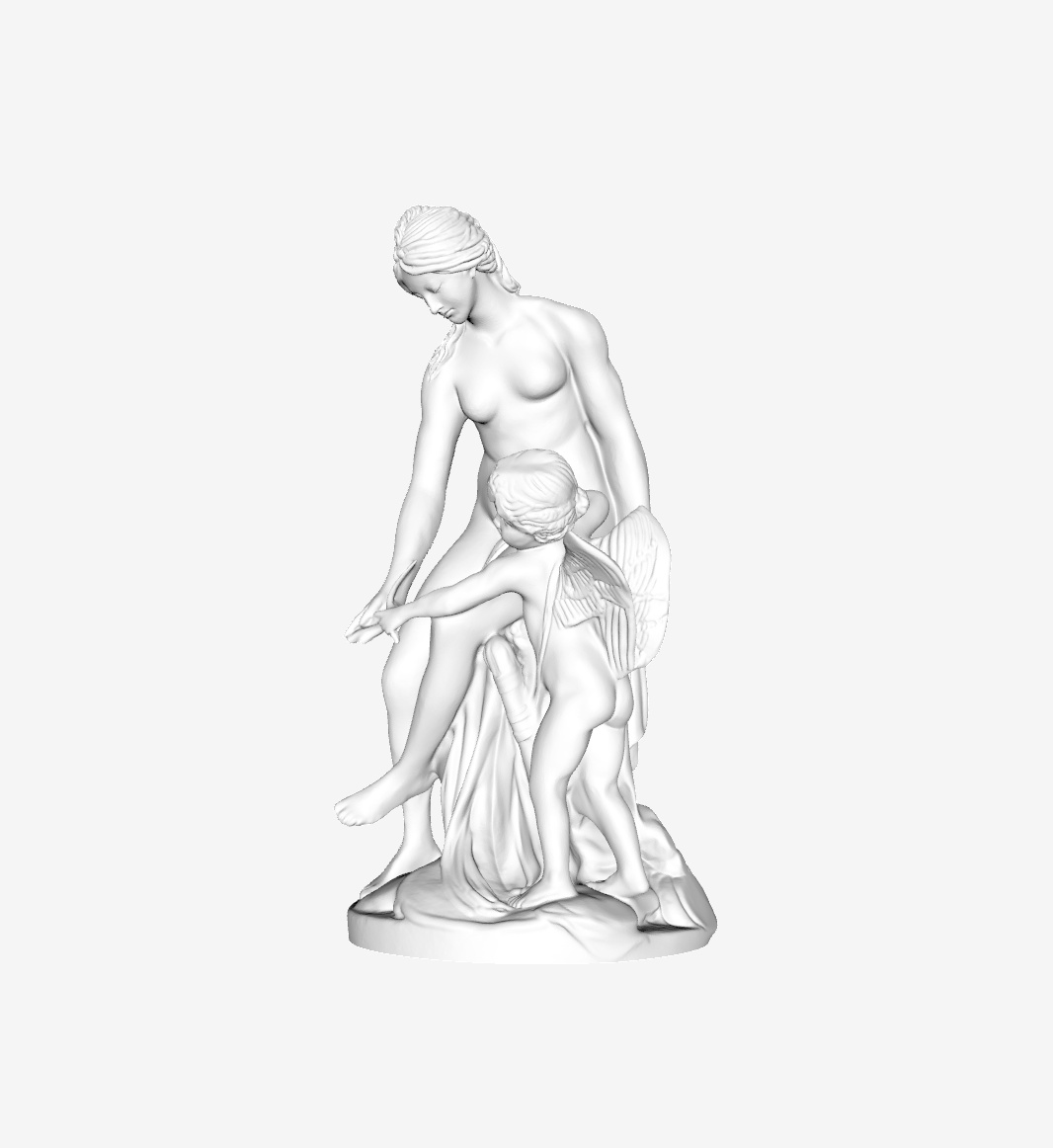 Capture d'écran 2018-09-21 à 12.22.35.png Download free STL file Venus teaching Cupid to use his bow at the Louvre, Paris, France • 3D print template, Louvre
